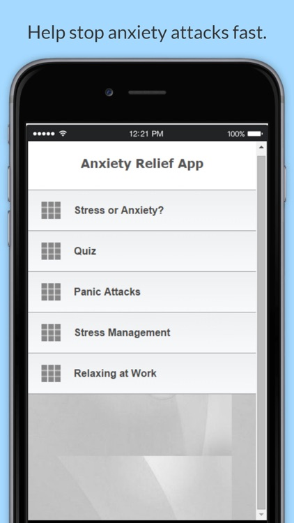 Anxiety Attack : Stress and Panic Help