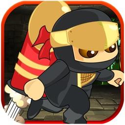 A Ninja Rocket Ride Running Jumping Flying Adventure