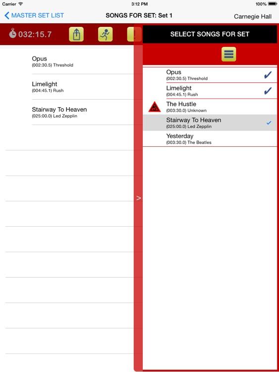 Master Set List screenshot-4