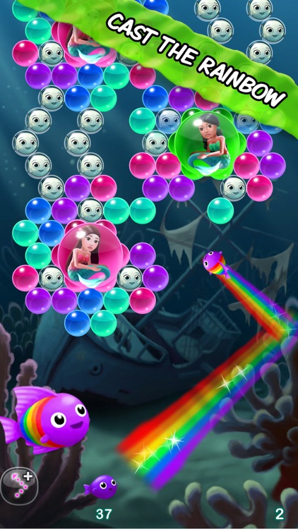 Bubble Fins - Bubble Shooter screenshot-3