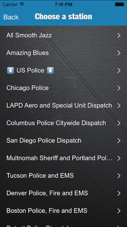 WBR - Radio and Police Scanner - Australia USA Canada screenshot-3