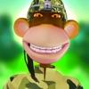 Crazy Trooper Monkeys Blast Balloons