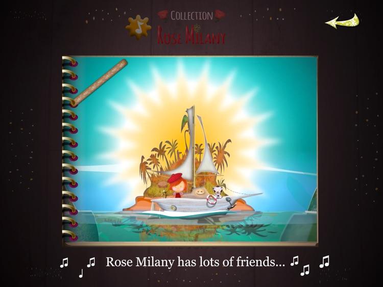 Rose Milany at the beach screenshot-4