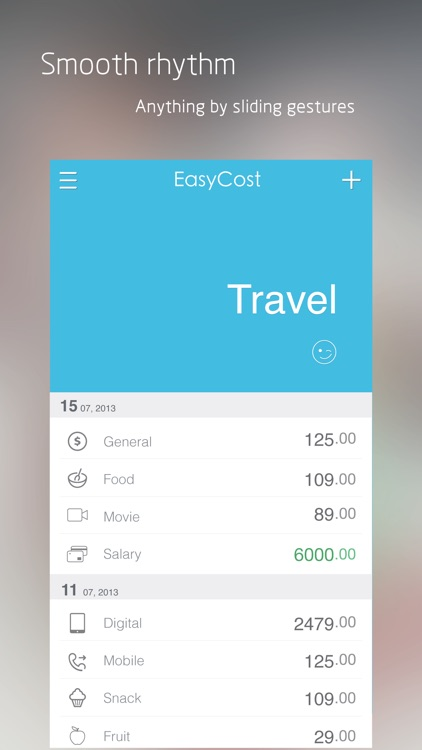 EasyCost - Expense Tracker and Money organizer screenshot-2