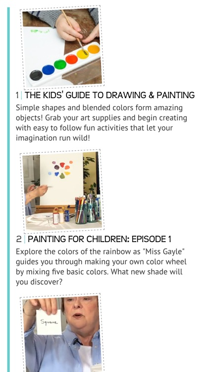 The Kids' Guide to Drawing and Painting