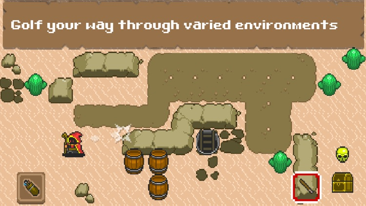 Wizard Golf RPG screenshot-2
