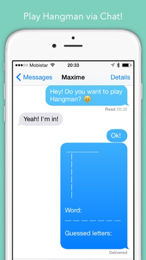 HangKeys — Hangman for Message apps! on the App Store