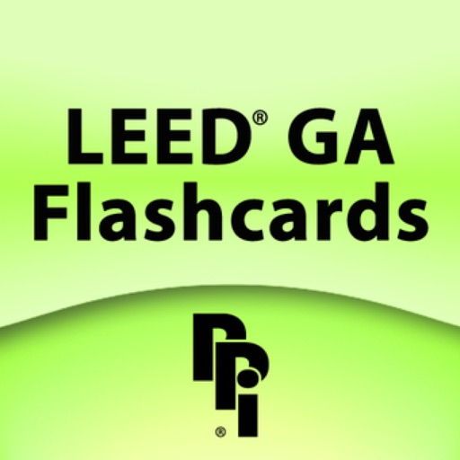 LEED® GA Flashcards: Green Associate icon