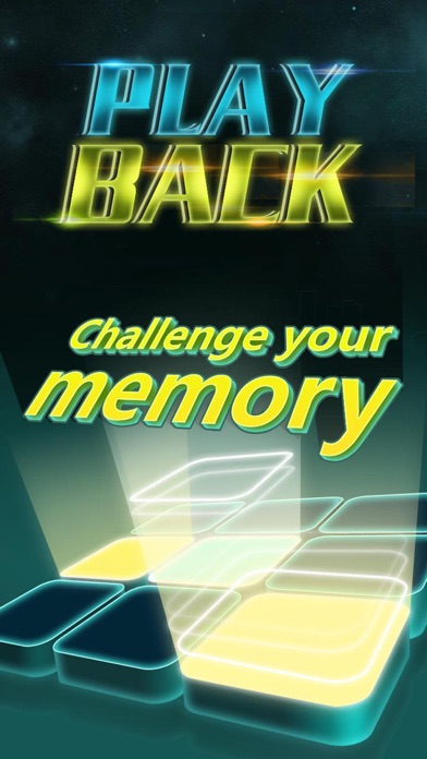 PlayBack-Memory Game Screenshot