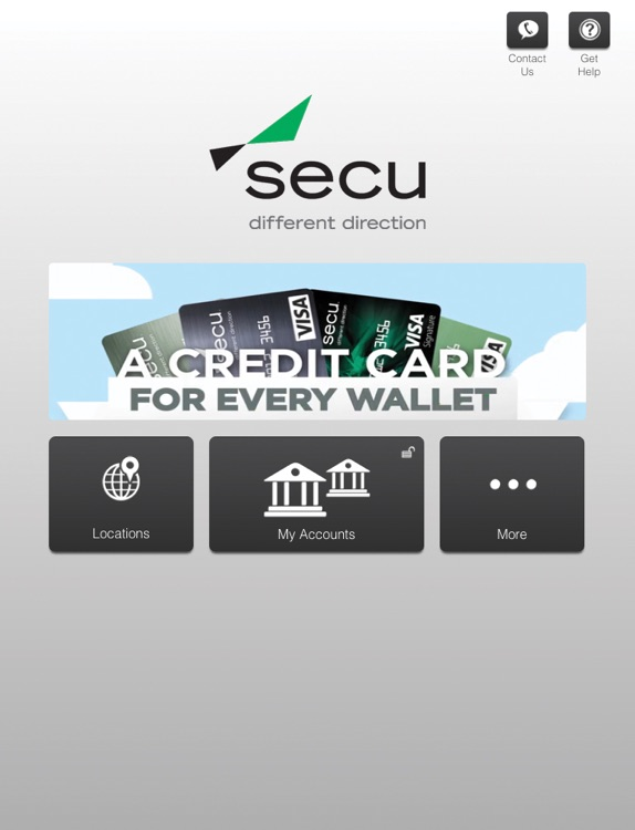 SECU Mobile (Maryland) for iPad