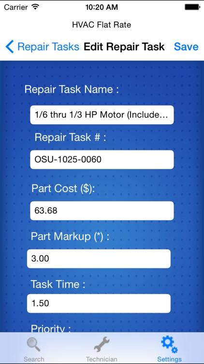 HVAC Flat Rate screenshot-4