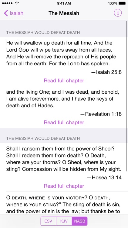 The Messiah - Bible Prophecies about Jesus Christ screenshot-4