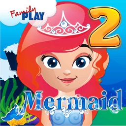 Mermaid Princess: 2nd Grade English and Math Learning Games School Edition
