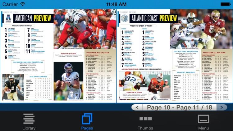 Allstate College Football Magazine screenshot-3