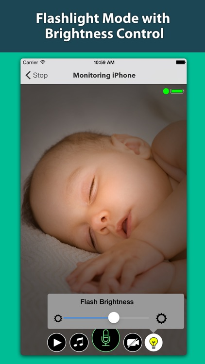 Secure Baby Monitor - Safe Wifi & Bluetooth Video Nanny Camera screenshot-3