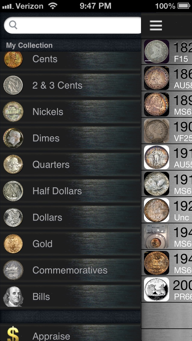 CoinVault - Store Your Coin Collection app image