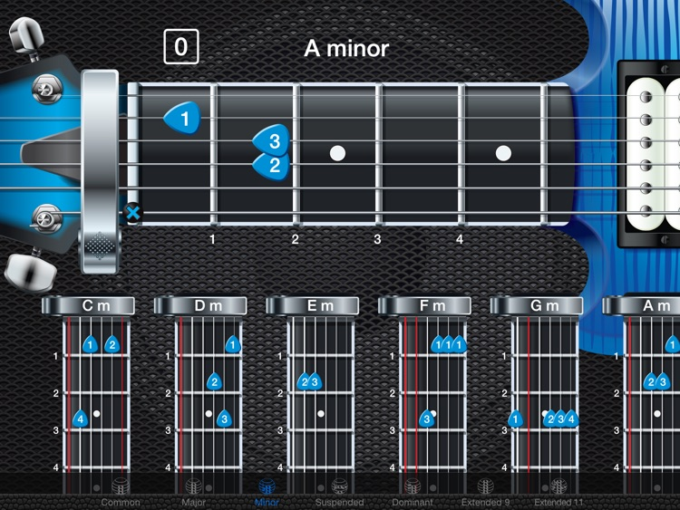 Capo Electric Guitar Chords And Tabs By Stuart Sprowell