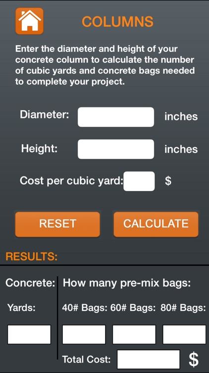 Professional Concrete Calculator