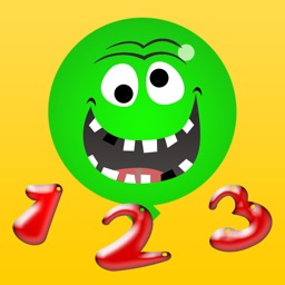 Crazy Balloons 1 2 3 - First Numbers