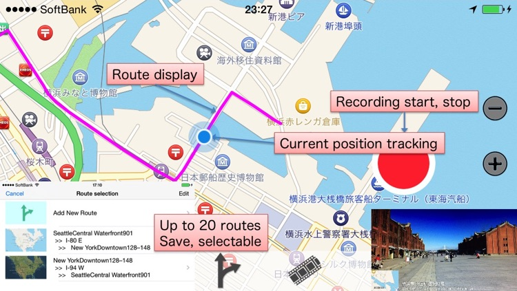 DrRec&Map - Drive recorder + Route Map