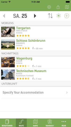 Wien Reiseführer (mit Offline Stadtplan) - mTrip Screenshot
