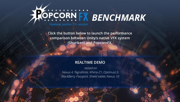 PopcornFX Benchmark