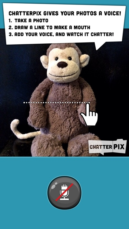 ChatterPix Kids - by Duck Duck Moose screenshot-0