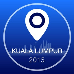 Kuala Lumpur Offline Map + City Guide Navigator, Attractions and Transports