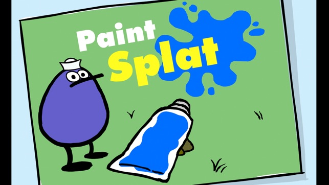 PEEP and the Big Wide World Paint Splat Screenshot