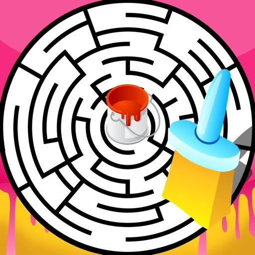 活動!圖畫書 學習兒童遊戲,迷宮和迷宮