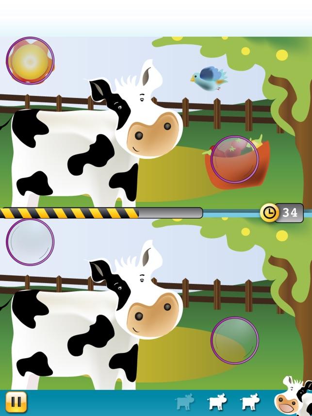 Sự khác nhau giữa các động vật: Hãy thử và phát hiện ra những khác biệt!