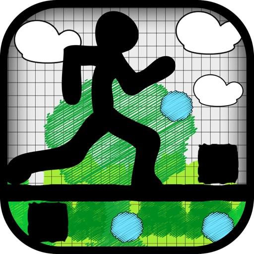 Crazy Doodle Runner - Super Stickman Survival Challenge