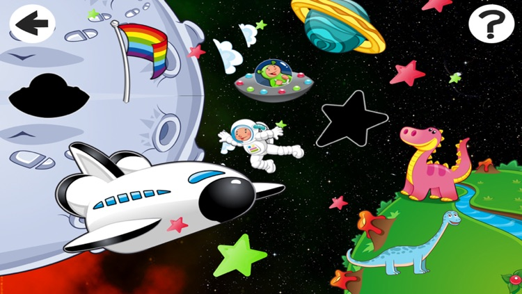 Alien-s Lost in Space with Robot-er, Dino-saur and Star-s In Fun-ny Kid-s Game-s screenshot-3