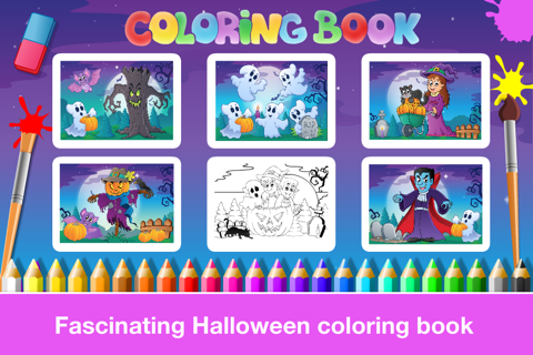 Halloween Learning Games for Preschool and Kindergarten Kids by Abby Monkey® screenshot 4