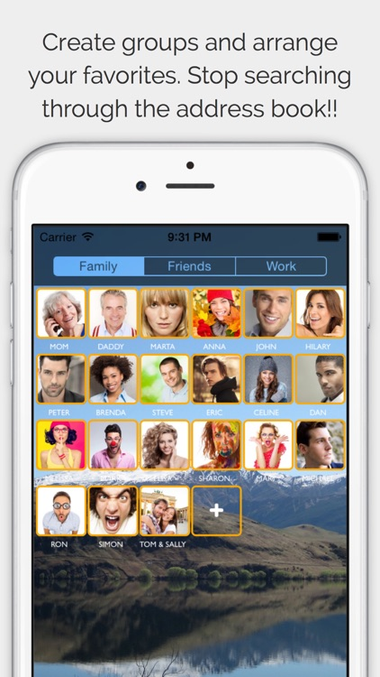 CallRight Free   -  call and text your favorite contacts with just one tap! screenshot-4