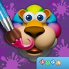 Paint My Zoo - Magic 3D Animal and Dinosaur Coloring