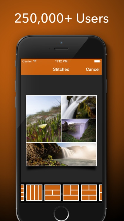 Stitched - Stitch Your Photo To Create Stunning Collages To Share on Facebook, Twitter and Instagram