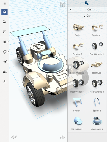 123D Design for Education Screenshot 1