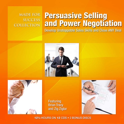 Persuasive Selling and Power Negotiation: Develop Unstoppable Sales Skills and Close ANY Deal (by Made for Success) (OTHER AUDIOBOOK)