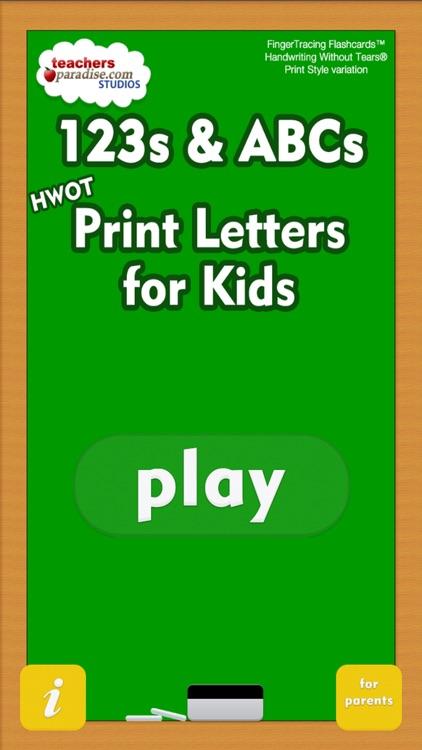 123s ABCs Preschool Learn HWOTP Kids Handwriting