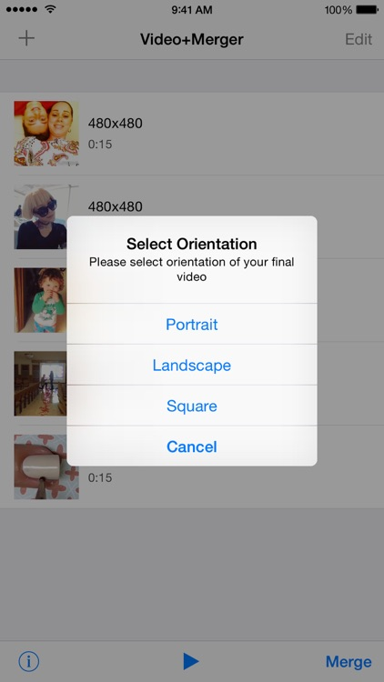 Video+Video - Join Multiple Video Clips Into One Single Video PRO - Video Merger screenshot-3