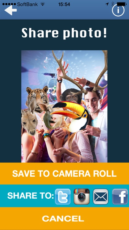 Animal Face Photo Booth screenshot-4