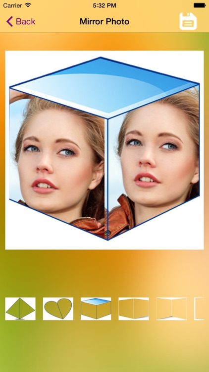 3D Mirror Grid - Reflections