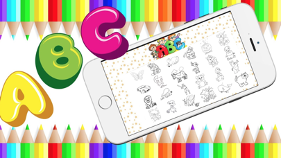 ABC Draw Color – Draw, Paint, Doodle, Sketch for Preschool Kid 1