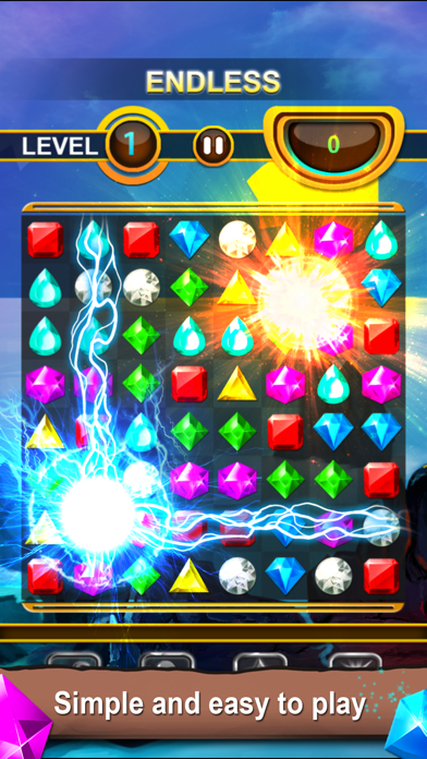 Tải về Jewels Quest - Classic Match-3 Puzzle Game cho Android