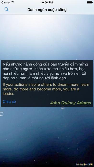 Danh ngôn cuộc sống screenshot two