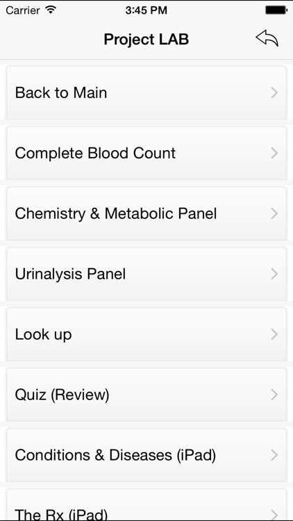 Project LAB - Medical Lab Reference screenshot-4