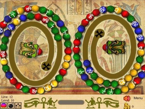 Игра Marble Blast of Egypt