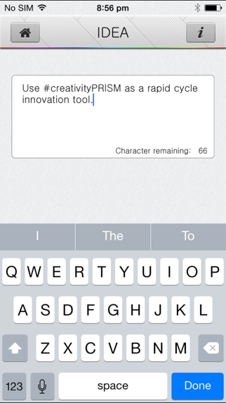 creativityPRISM - Innovation in your hand. screenshot three