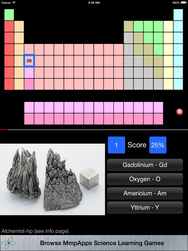 elements classic on the app store - Periodic Table Learning App